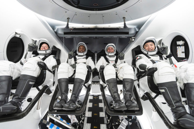 NASA SpaceX Crew 1 astronauts