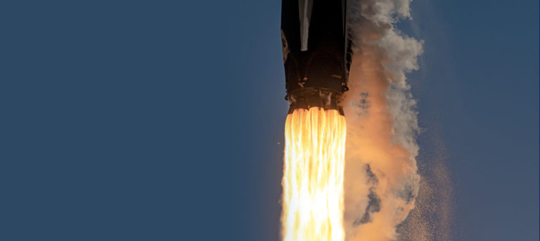 SpaceX Falcon 9 ANASIS-II Liftoff