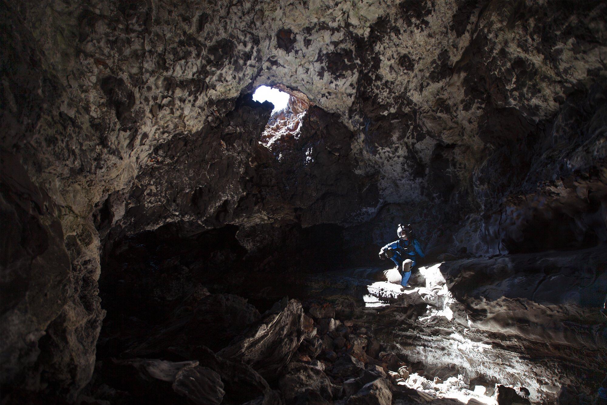 MaryLiz Bender astronaut caver