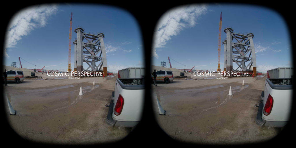 SpaceX Starship Tower Segment VR