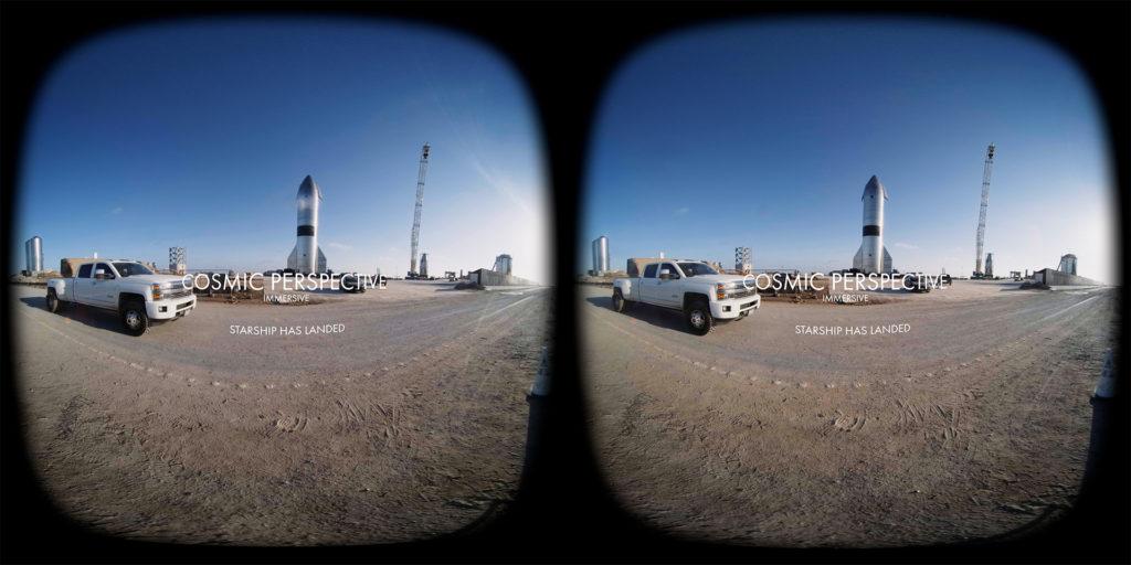 SpaceX Starship VR Video