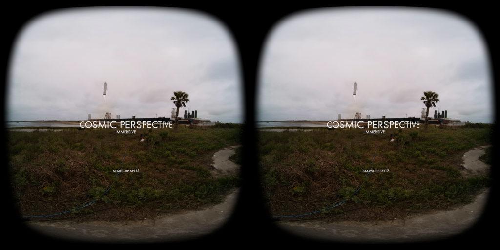 SpaceX Starship liftoff VR