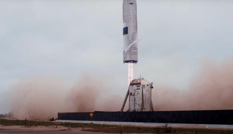 SpaceX Starship SN15 landing